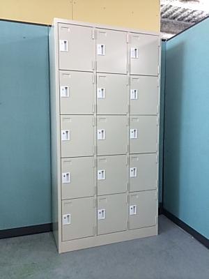 mugendou 15人用ロッカー 【アウトレット|オフィス家具|ロッカー】