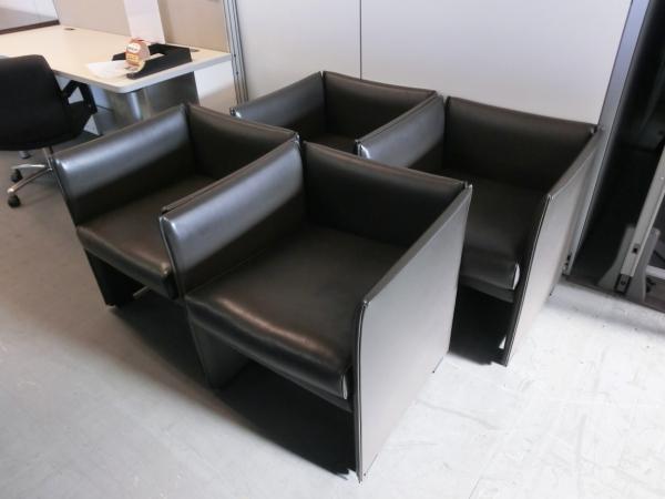 Cassina/カッシーナ ウィスキーソファ4脚セット 中古|オフィス家具|応接|デザイナーズ