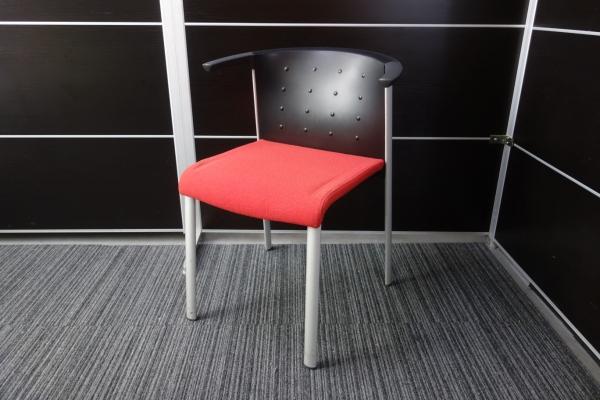 Wilkhahn/ウィルクハーン スタッキングチェア3脚セット 中古 オフィス家具 ミーティングチェア デザイナーズ