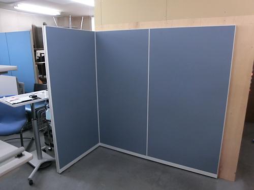 イトーキ 3連L型パーテーション 中古 オフィス家具 パーテーション