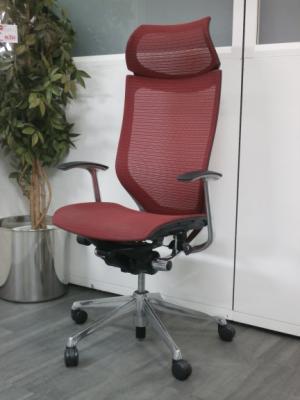 オカムラ バロンチェア 中古|オフィス家具|事務イス|デザイナーズ