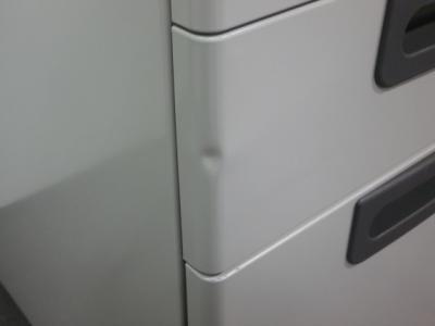 プラスインワゴン2000000004669カギ付 3段 ペンケース欠品 キズ・ヘコミ小有詳細画像4