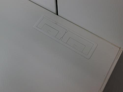 コクヨ1000片袖デスクJ1409Kカギ付 キズ有 中にはダクトパーツ違い有詳細画像3