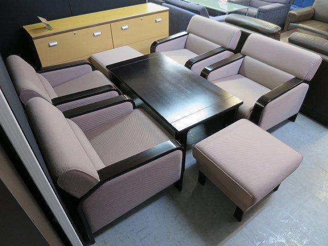 Tendo(天童木工) 応接7点セット 中古|オフィス家具|応接セット|デザイナーズ