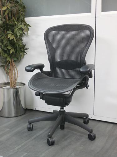 Herman Miller(ハーマンミラー) アーロンチェア 中古|オフィス家具|肘付事務イス|デザイナーズ