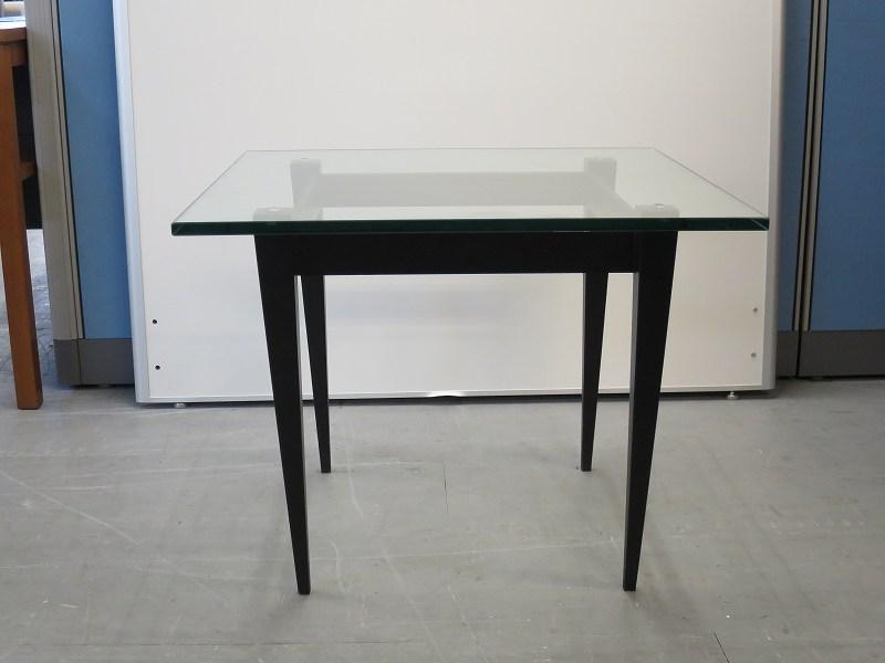 天童木工(Tendo) ガラスサイドテーブル 中古|オフィス家具|応接セット|役員|デザイナーズ