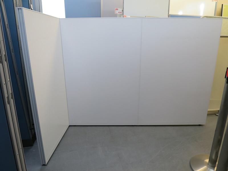 イトーキ 3連L型パーテーション 中古|オフィス家具|パーテーション|連結式