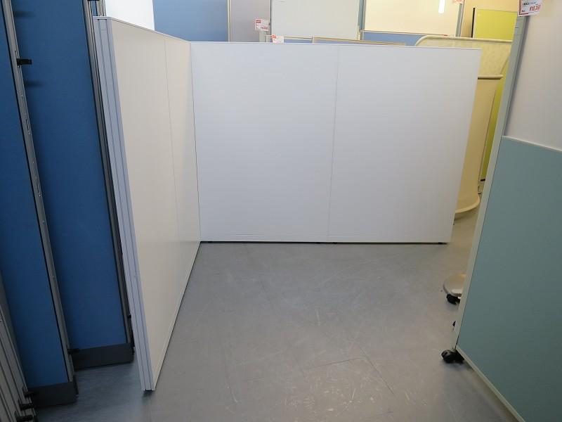 イトーキ 4連L型パーテーション 中古|オフィス家具|パーテーション|連結式