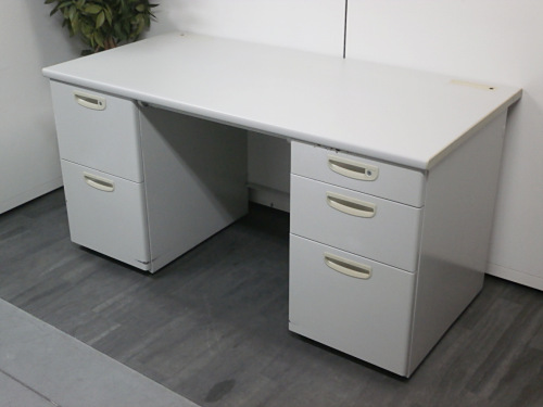 ナイキ 1400両袖デスク 中古|オフィス家具|事務机