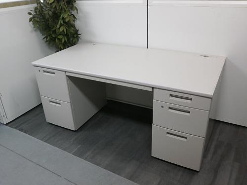 コクヨ 1600両袖デスク 中古 オフィス家具 事務机