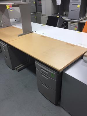 イトーキ 1200システムデスク 中古 オフィス家具 事務机