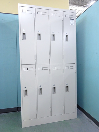 コクヨ 8人用ロッカー 中古|オフィス家具|ロッカー