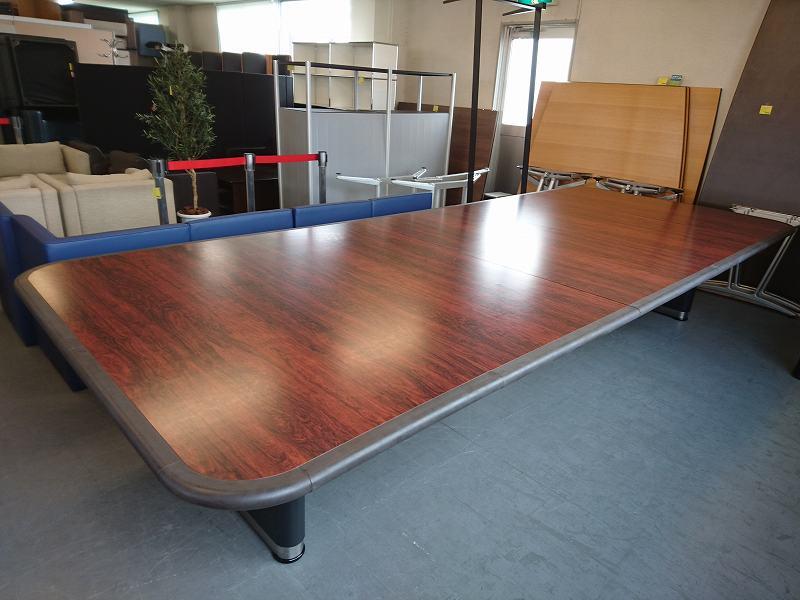 役員ミーティングテーブル 中古|オフィス家具|ミーティングテーブル|役員応接