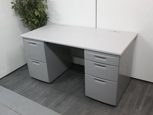 イトーキ 1400両袖デスク 中古 オフィス家具 事務机