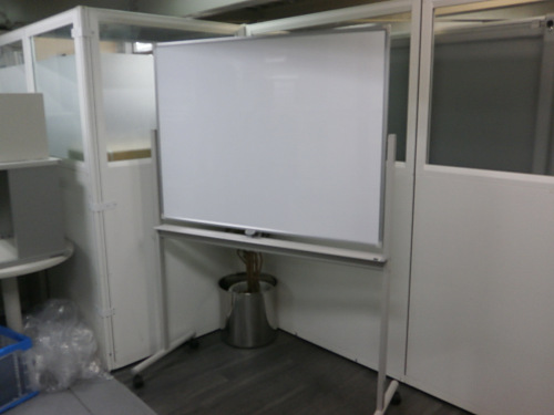 ウチダ 1200脚付ホワイトボード 中古 オフィス家具 ホワイトボード