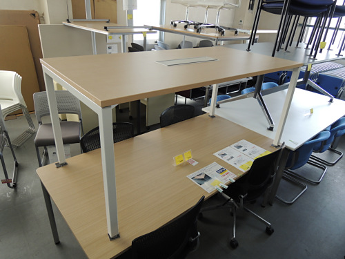 UCHIDA ノティオミーティングテーブル 中古|オフィス家具|ミーティングテーブル