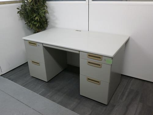 プラス 1400両袖デスク 中古|オフィス家具|事務机