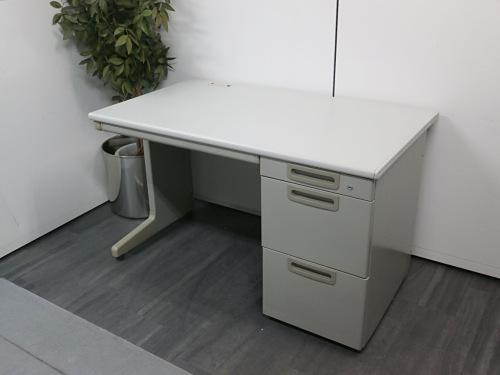 プラス 1200片袖デスク 中古|オフィス家具|事務机