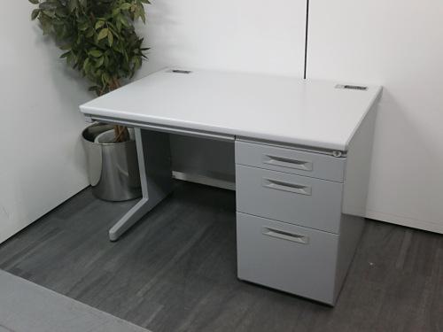 ウチダ 1100片袖デスク 中古|オフィス家具|事務机