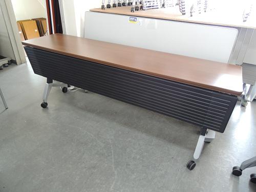 KOKUYO 平行スタックテーブル3台セット 中古|オフィス家具|サイドスタックテーブル
