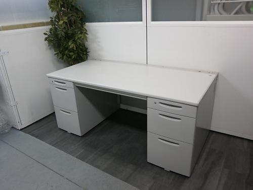 オカムラ 1600両袖デスク 中古|オフィス家具|事務机
