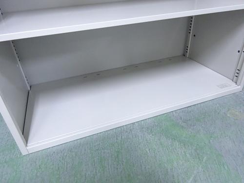 イトーキオープン書庫Q1012M棚板2枚 天板穴有詳細画像3