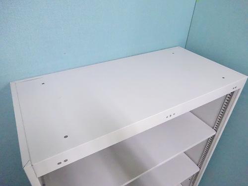 イトーキオープン書庫Q1012M棚板2枚 天板穴有詳細画像4