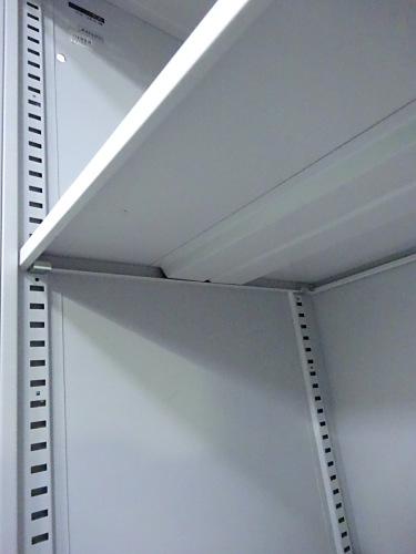 イトーキオープン書庫Q1012M棚板2枚 天板穴有詳細画像2
