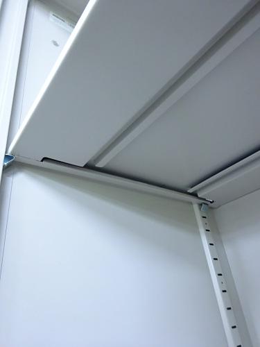 コクヨスライド上下書庫Q1303Mカギ付 棚板4枚詳細画像3