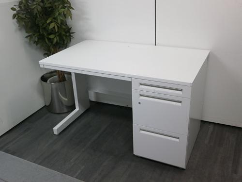 ウチダ 1200片袖デスク 中古|オフィス家具|事務机