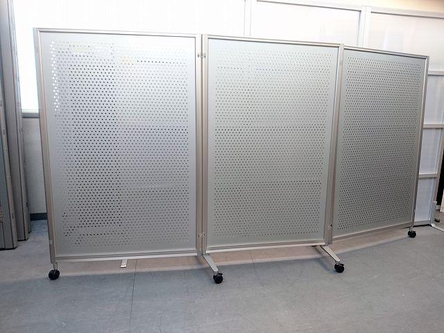 ウチダ 3連折畳式自立パーテーション買取しました!