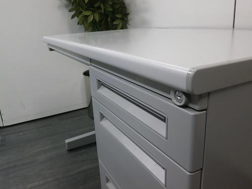 ウチダ1100片袖デスク4台セットR1014K詳細画像4