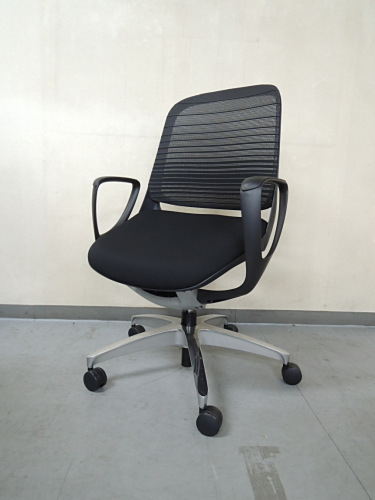 オカムラ ルーチェチェア6脚セット 中古|オフィス家具|ミーティングチェア