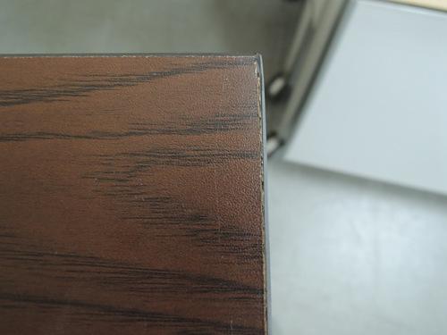 サイドスタックテーブルR1707Aチーク 棚付詳細画像2