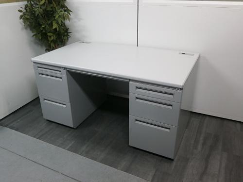 ウチダ 1400両袖デスク 中古|オフィス家具|事務机