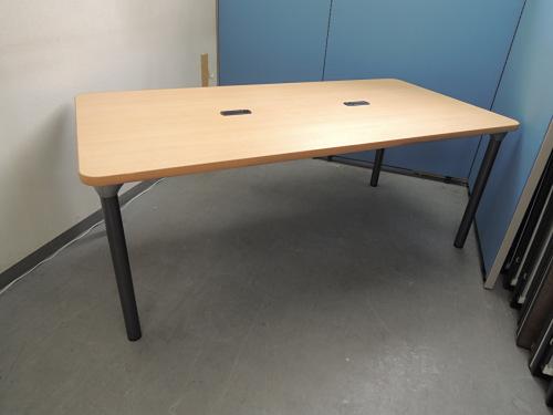 豊通ファシリティーズ ミーティングテーブル 中古 オフィス家具 ミーティングテーブル