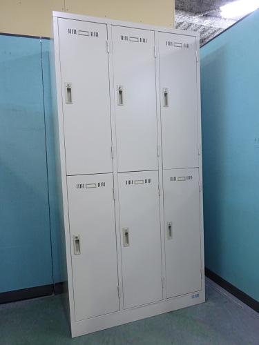 sf 6人用ロッカー 中古 オフィス家具 ロッカー