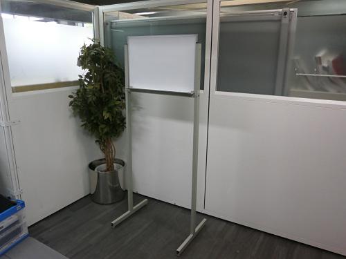 600脚付ホワイトボード 中古|オフィス家具|ホワイトボード