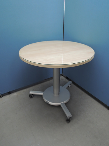 ヘイワース サークルテーブル 中古|オフィス家具|ミーティングテーブル