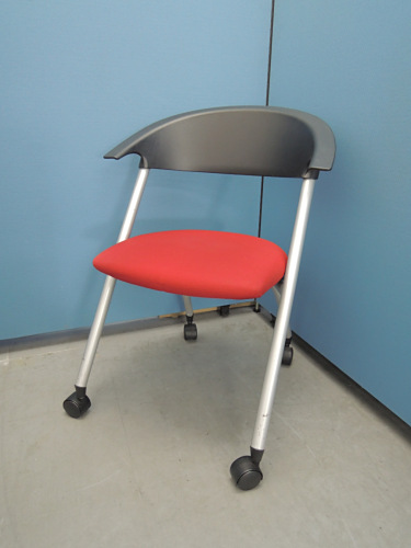 コクヨ ネスティングチェア4脚セット 中古|オフィス家具|ミーティングチェア