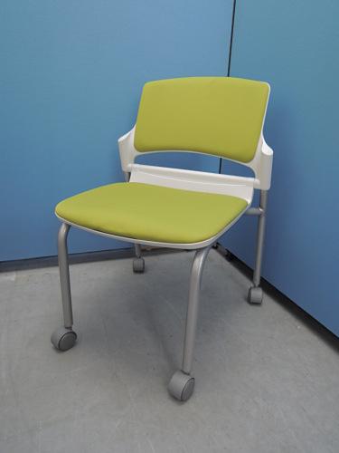 ウチダ スタッキングチェア6脚セット 中古|オフィス家具|ミーティングチェア