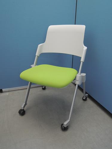 コクヨ アンフィミーティングチェア4脚セット 中古|オフィス家具|ミーティングチェア