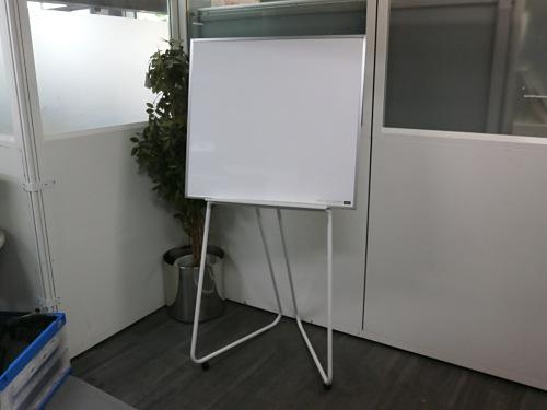 ウチダ 800脚付ホワイトボード買取しました!