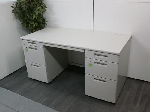 コクヨ 1400両袖デスク 中古 オフィス家具 事務机