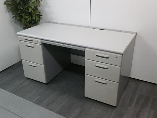 イトーキ 1400両袖デスク 中古|オフィス家具|事務机