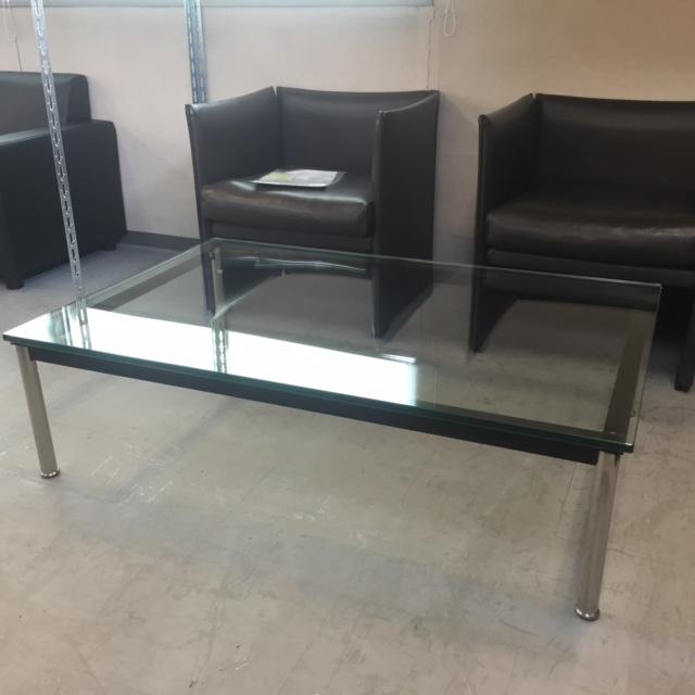 ガラスセンターテーブル 中古|オフィス家具|応接テーブル
