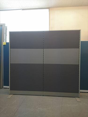 イナバ 2連自立パーテーション 中古|オフィス家具|パーテーション|自立式