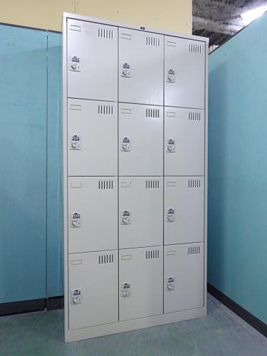 ウチダ 12人用ロッカー 中古|オフィス家具|ロッカー
