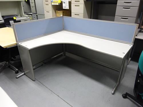 イトーキ 1600L型デスク 中古|オフィス家具|OAデスク