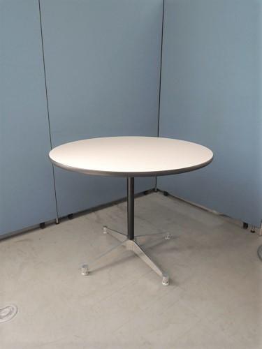 HermanMiller(ハーマンミラー) イームズコントラクトベース丸テーブル 中古|オフィス家具|ミーティングテーブル|デザイナーズ